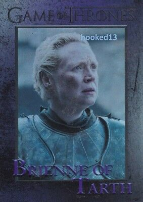 Game Of Thrones: Season 6 Brienne Of Tarth FOIL Parallel Card