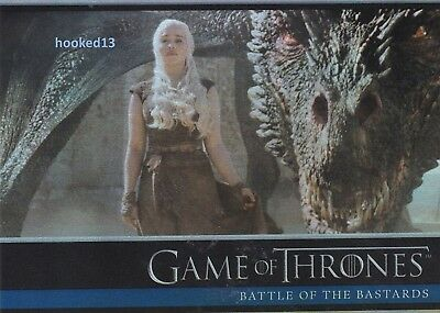 Game Of Thrones: Season 6 Battle Of The Bastards FOIL Parallel Card