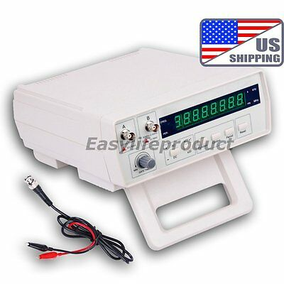 US VC3165 Radio Frequency Counter RF Meter 0.01Hz~2.4GHz Professional Tester