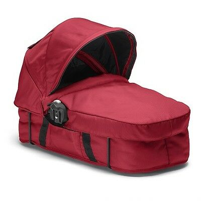 Baby Jogger City Select Black Frame Stroller Bassinet Kit Red