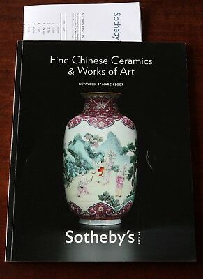 Sotheby's New York, Fine Chinese Ceramics & Works of Art, 17 March 2009