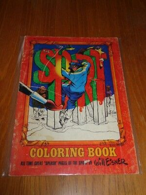 Spirit Coloring Book Will Eisner Treasury Edition Vg (4.0)<