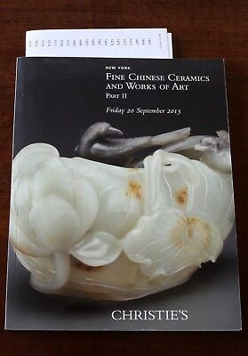 Christie's New York, Fine Chinese Ceramics & Works of Art, Part 2, 20 Sept. 2013