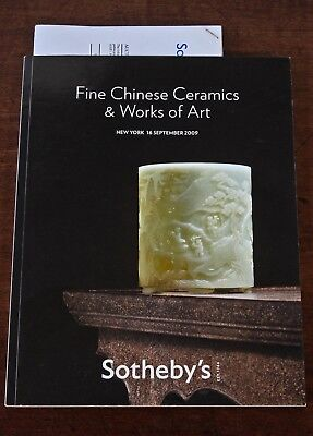 Sotheby's New York, Fine Chinese Ceramics & Works of Art, 16 September 2009