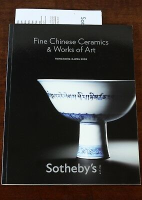 Sotheby's Hong Kong, Fine Chinese Ceramics & Works of Art, 8 April 2009