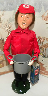 BYERS CHOICE Salvation Army Man with Soup Pot 2013 Hang Tag   *