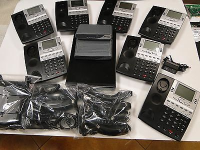 Ipitomy Phone System VOIP IP PBX  IP1100 w/ IP550 Phones