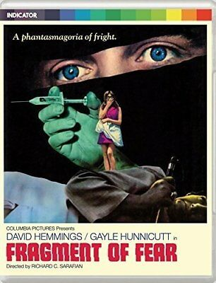 FRAGMENT OF FEAR (1970) Blu-Ray BRAND NEW Free Ship USA Compatible