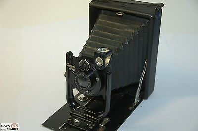 Contessa Nettel Taxo folding camera 9x12 Collectible Antique ~ 100 years old