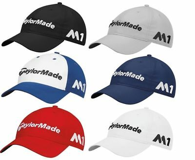 50e1982ca NEW TAYLORMADE GOLF Lite Tech Tour Mens Golf Hat Cap TP5 M1 U Pick Color  White