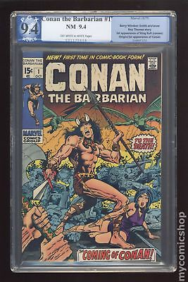 Conan the Barbarian (Marvel) #1 1970 PGX 9.4