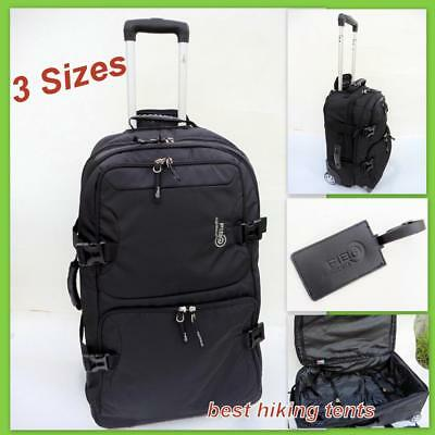 Lightweight Wheeled Travel Duffle Bag Luggage Overnight Tote Lite Trolley 3 Size