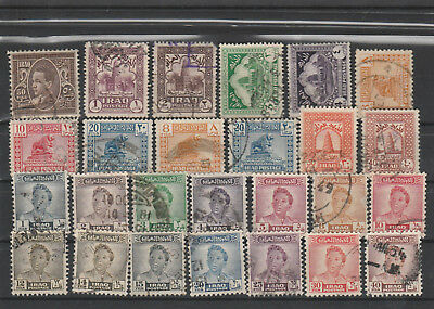 Iraq Iraq Middle East older Postage Stamps mix old Stamps mix Lot Am 5138
