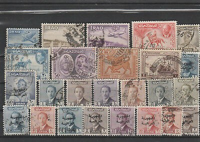 Iraq Iraq Middle East older Postage Stamps mix old Stamps mix Lot Am 5128