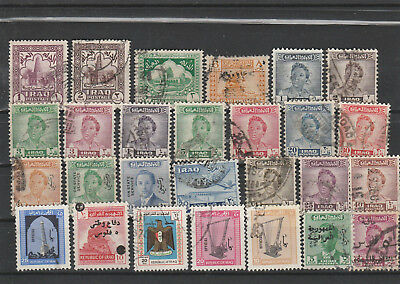 Iraq Iraq Middle East older Postage Stamps mix old Stamps mix Lot Am 5139