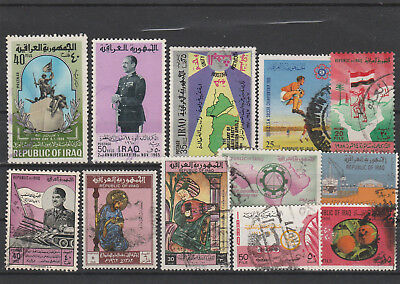 Iraq Iraq Middle East older Postage Stamps mix old Stamps mix Lot Am 5121