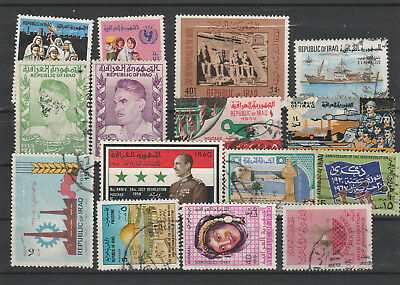 Iraq Iraq Middle East older Postage Stamps mix old Stamps mix Lot Am 5125