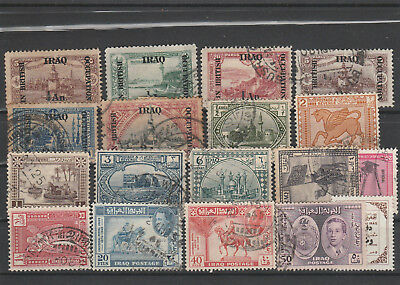 Iraq Iraq Middle East older Postage Stamps mix old Stamps mix Lot Am 5117