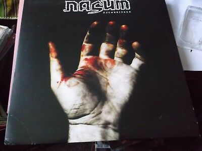 Nasum Doombringer Lp Transparent Purple Vinyl