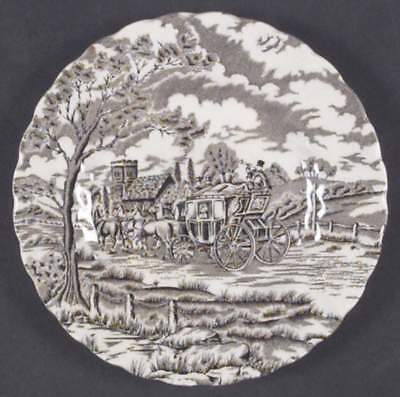 Myott Staffordshire ROYAL MAIL BROWN Bread & Butter Plate 410342