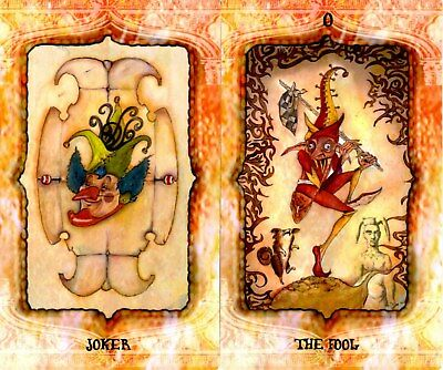 The 7th World Tarot Deck, 80 cards