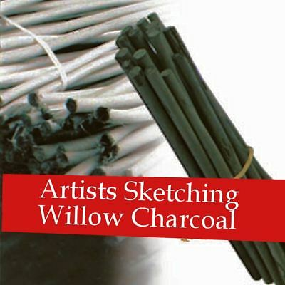 willow charcoal sticks artist drawing sketching natural medium sets daler rowney
