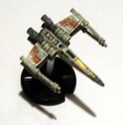WOTC Star Wars Minis Starship Battles Luke Skywalker's X-Wing SW
