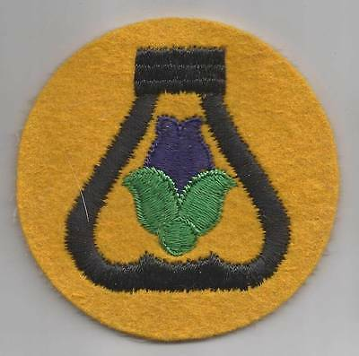 WW 2 US Army 21st Cavalry Division Felt Patch Inv# F429