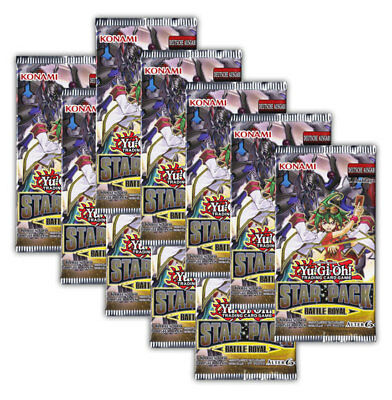 Yu-Gi-Oh! Star Pack Battle Royal - 10 Booster Packs Deutsche Ausgabe 1. Auflage