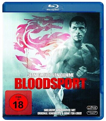 Bloodsport (1988) Jean-Claude Van Damme IMPORT Blu-Ray NEW - USA Compatible