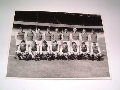 Arsenal Fc 1969-1970 Rare Squad Original Press Or Club Issued Photograph