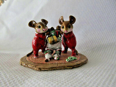 "Wee Forest Folk ""TWO FOR ONE"" M329 Red Shop Display Piece KH"