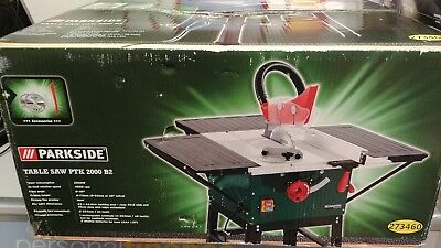PARKSIDE TABLE SAW - POWER 2000W - 4800rpm BNIB