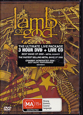 LAMB OF GOD Killadelphia - DVD + CD set - New   SirH70