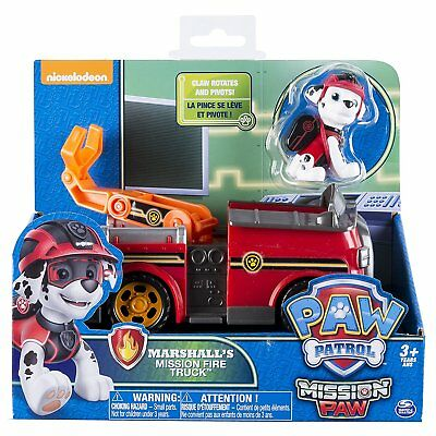 Paw Patrol Mission Paw Vehicle - Marshall's mission Fire Truck BRAND NEW
