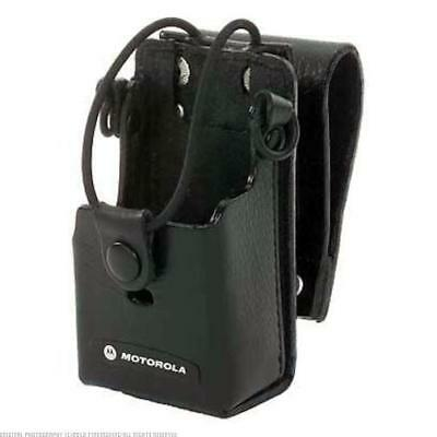 Motorola RLN6302 Leather Case with 3-Inch Swivel for RDX Radios