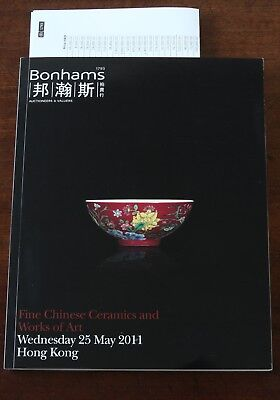 Bonhams HK, Fine Chinese Ceramics & Works of Art, 25 May 2011