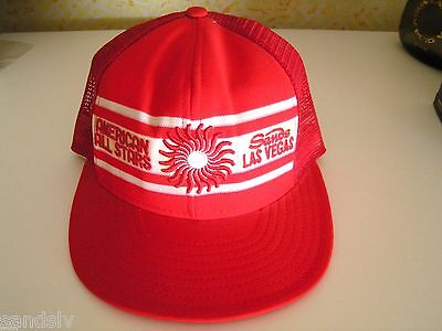 Sands Hotel Las Vegas American League All Stars Game Baseball Hat New Never Worn
