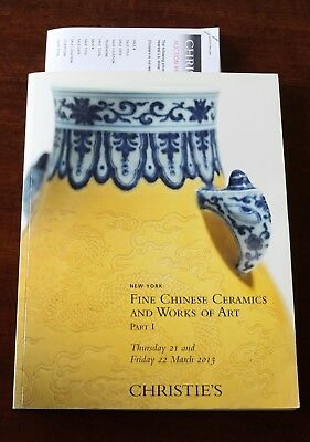 Christie's NY, Fine Chinese Ceramics & Works of Art, Part 1, 21/22 March 2013