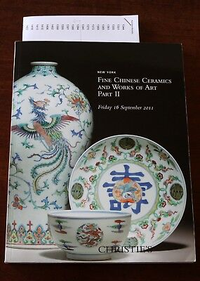 Christie's NY, Fine Chinese Ceramics and Works of Art, Part 2, 16 September 2011
