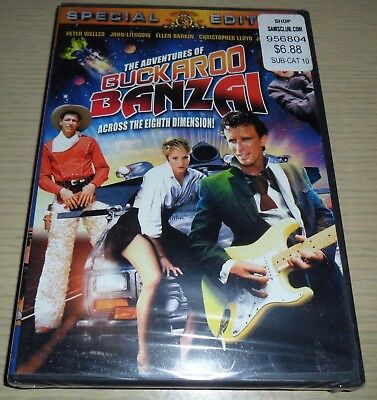 Sealed New ~ The Adventures of Buckaroo Banzai (DVD, 2002)