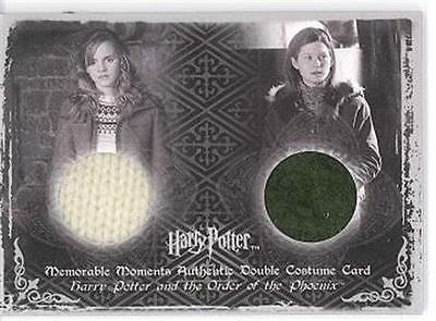 HERMIONE + GINNY MM OOTP COS ERROR DOUBLE Costume Card C12 109/250
