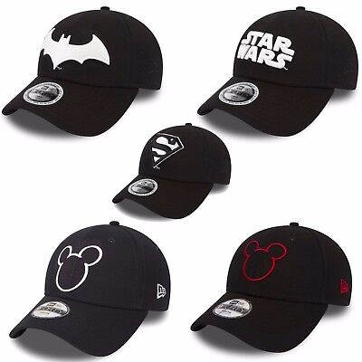 New Era 9Forty Cappello bambini Giovani Berretto Star Wars topolino batman super