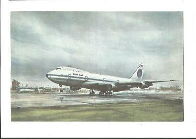 Cp Avion Boeing 747 Pan Am 1970