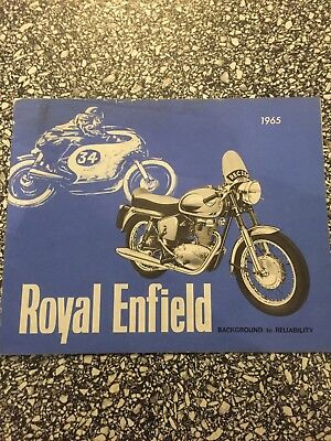 Royal Enfield Sales Brochure.
