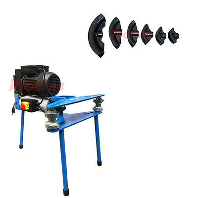 "2'' Electric 10 Ton Hydraulic Pipe Tube Bender Bending 6 Dies 1/2""-2"" 110V 60Hz"