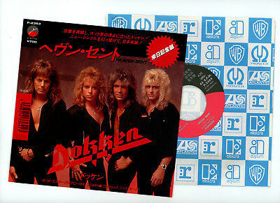 "DOKKEN 7"" single Japan HEAVEN SENT 20038"
