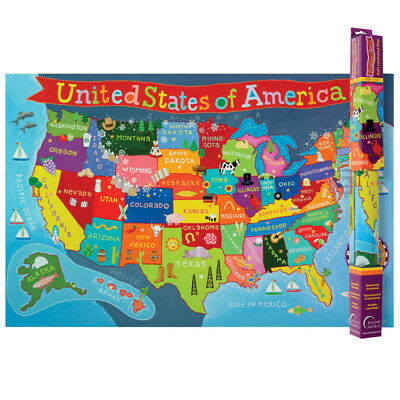 UNITED STATES MAP For Kids - $12.12 | PicClick