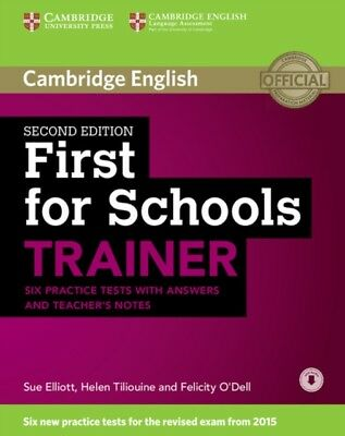 First for Schools Trainer Six Practice Tests with Answers and Tea...