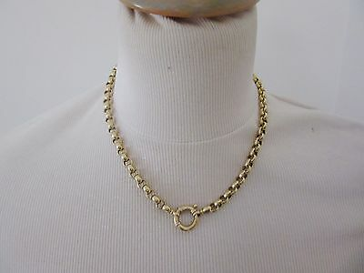 collier jaseron or 18 carats